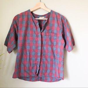 Faherty plaid button up shirt 272